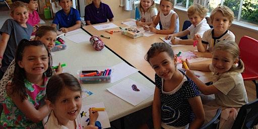 EV Families Winter Quarter Art Class Ages 7 - 10