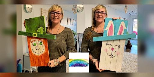 Leprechaun/Bunny: Glen Burnie, Sidelines with Artist Katie Detrich!