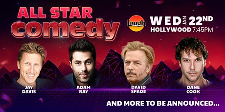 David Spade, Dane Cook, and more - All-Star Comedy tickets