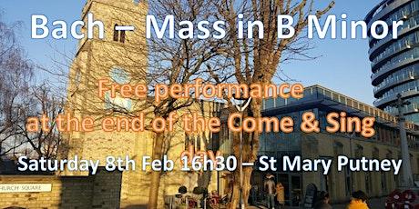 Bach - Mass in B Minor - Chorals tickets