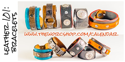 Leather 101: Bracelets with Leather Pixie 3.20.20