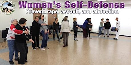 Women's Self-Defense Workshop - (Brentwood Public Library) tickets