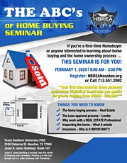 HBREA ABC's of Home Buying Education Class tickets