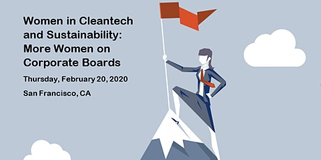 Women in Cleantech: More Women on Corporate Boards tickets