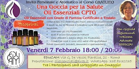 EDUCAM Corso Gratuito Oli Essenziali CPTG biglietti
