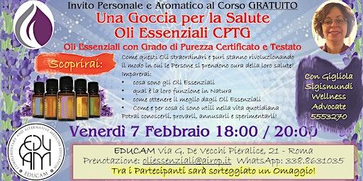 EDUCAM Corso Gratuito Oli Essenziali CPTG