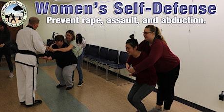 Women's Self Defense Workshop - ( Cutchogue New Suffolk Free Library) tickets