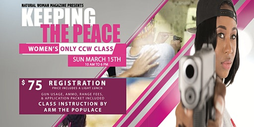 Keeping The Peace CCW Class Certification
