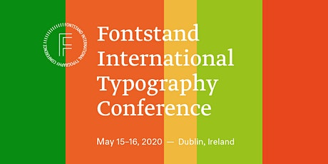 Fontstand International Typography Conference 2020 tickets