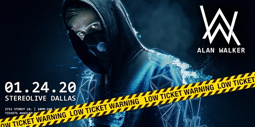 Alan Walker - Stereo Live Dallas