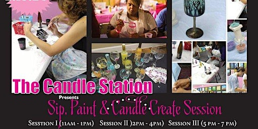 Sip, Paint & Candle Create Session