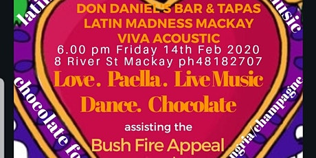 Valentine's Paella Night for the Bush Fire Appeal tickets