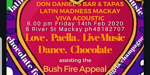 Valentine's Paella Night for the Bush Fire Appeal
