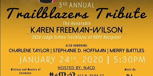 3rd Annual Trailblazers Tribute