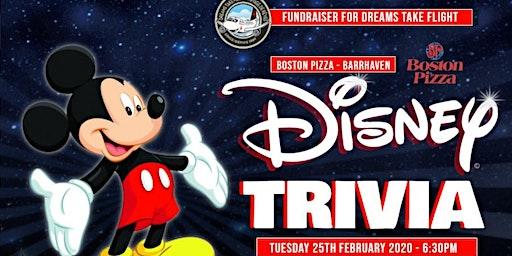 Disney Trivia with Dreams Take Flight