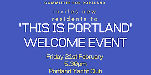 Welcome to Portland - New Resident Event