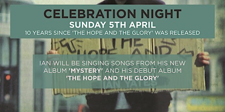 The Hope & The Glory 10 Year Celebration Event tickets
