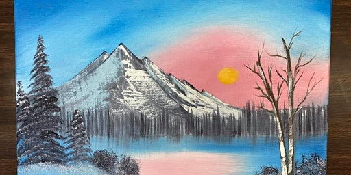 """Bob Ross Workshop at the Boulevard """"Winter Frost"""""""