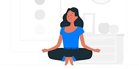 Aula Meditação Mindfulness bilhetes