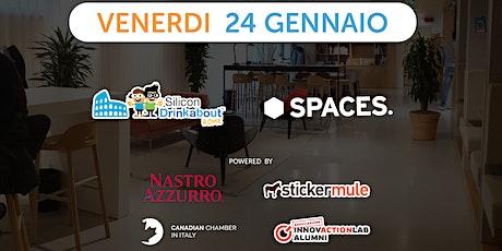 #33 Silicon Drinkabout Rome - 24 Gennaio biglietti
