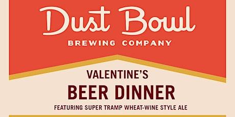 Dust Bowl Valentine's Beer Pairing Dinner tickets