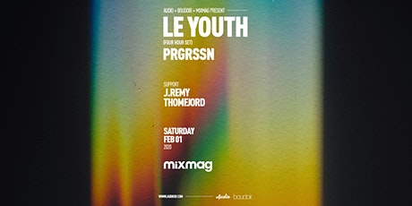 Le Youth - Four Hour Set - PRGRSSN (Mixmag Live) tickets