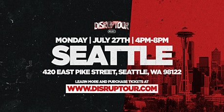 DISRUPTOUR SEATTLE tickets
