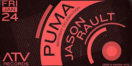 Puma & Jason Rault tickets