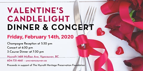 HHPF Valentine's Candlelight Dinner & Concert tickets