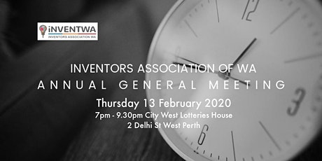 Inventors Association of WA - Annual General Meeting tickets