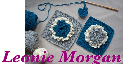 Crochet a Blooming Flowers Square - with Designer Leonie Morgan
