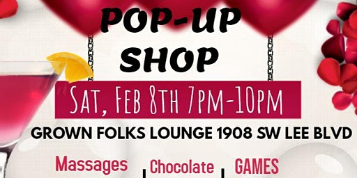 Pre-Valentine's Day Pamper Party Pop-Up Shop
