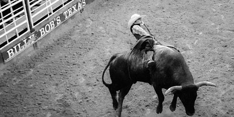 Fort Worth Foto Fest: Bull Riding at Billy Bob's Texas billets