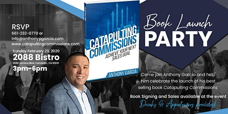 Catapulting Commissions Book Launch Party tickets