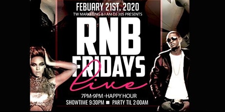 RnB LIVE Fridays tickets
