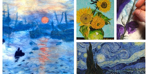 Felted Artist Study Workshop March 29, 2020
