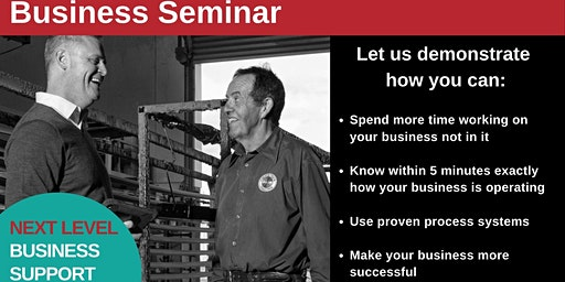 Next Level Business Support - Seminar