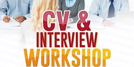 CV & Interview Workshop tickets