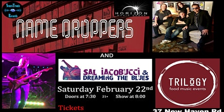 The Name Droppers with Sal Iacobucci & Dreaming The Blues tickets