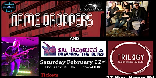 The Name Droppers with Sal Iacobucci & Dreaming The Blues