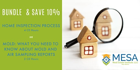 Bundle & Save! Home Inspection Process + Mold: What You Need to Know tickets