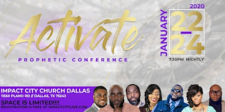 Activate Prophetic Conference tickets