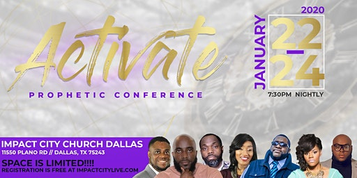 Activate Prophetic Conference