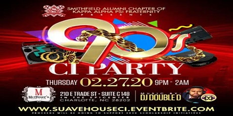 Suave House Edition 90's CIAA Party tickets