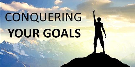 Webinar - Conquering Your Goals Shepparton tickets