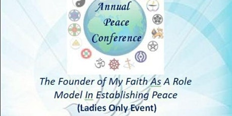 Annual Peace Conference 2020 ( Ladies Only) tickets