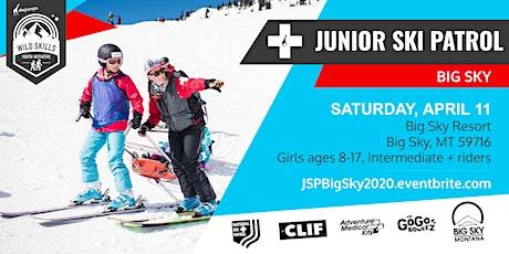 WILD SKILLS Junior Ski Patrol: Big Sky tickets