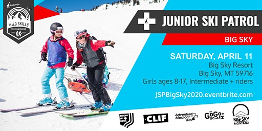 WILD SKILLS Junior Ski Patrol: Big Sky