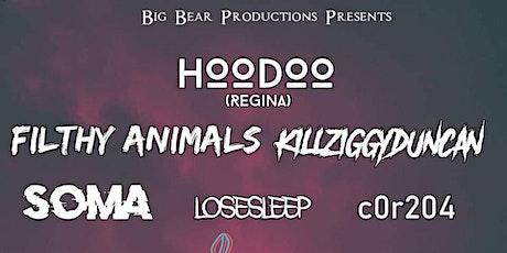 HOODOO (Regina) w/ Filthy Animals & guests tickets