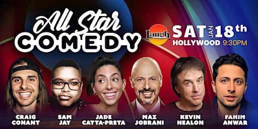 Jade Catta-Preta, Kevin Nealon, and more - Special Event: All-Star Comedy